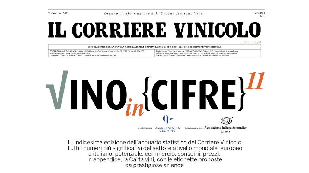 Scarica QUI la tua copia di Vino in Cifre!