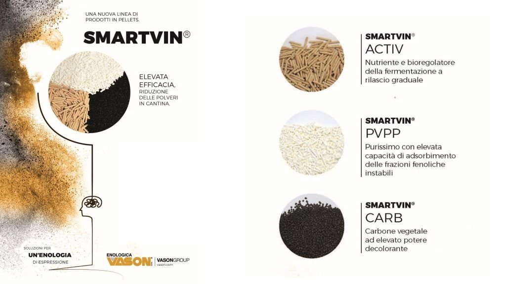 SMARTVIN® una nuova linea di prodotti in pellet