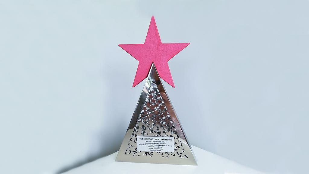 Premio MEDIASTARS - Special Star per l'Art Direction a VASONGROUP